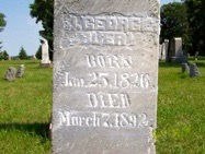 J. George BUERY Grave Marker