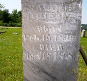 Mrs. George (Salome Coffman) head stone2